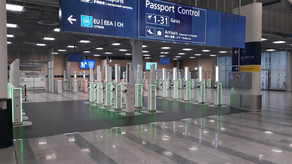 Helsinki Airport - Vision-Box